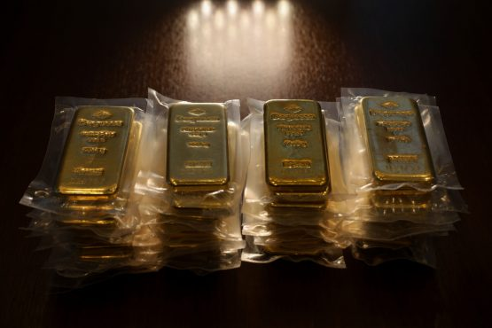 Gold has surged to a new record high, now it has been put on a blockchain thumbnail