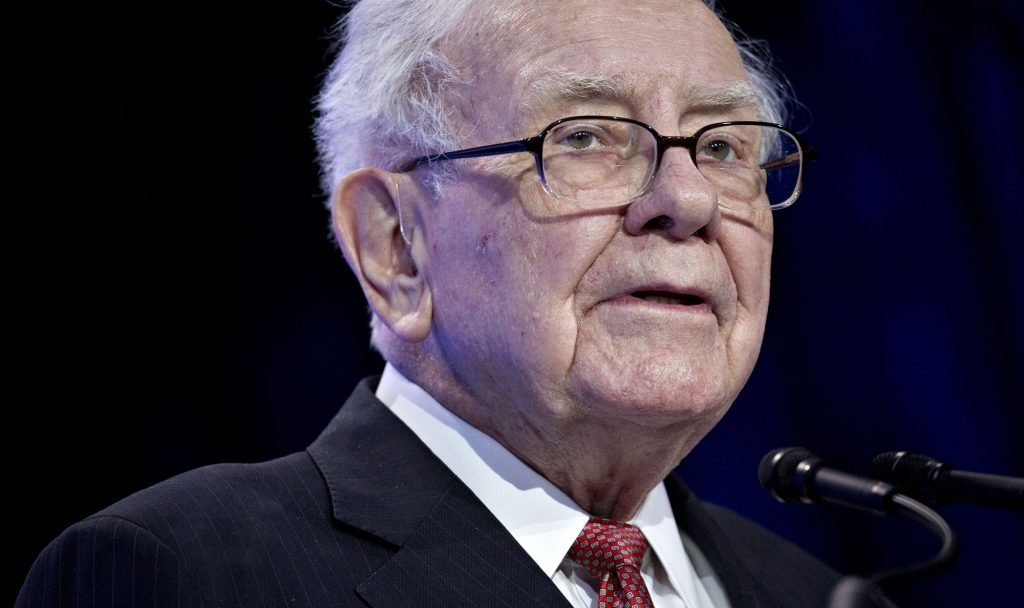 Berkshire bought back record $5bn of stock last quarter