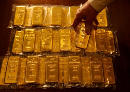 Gold retreats after best week since 2008 as caution reigns