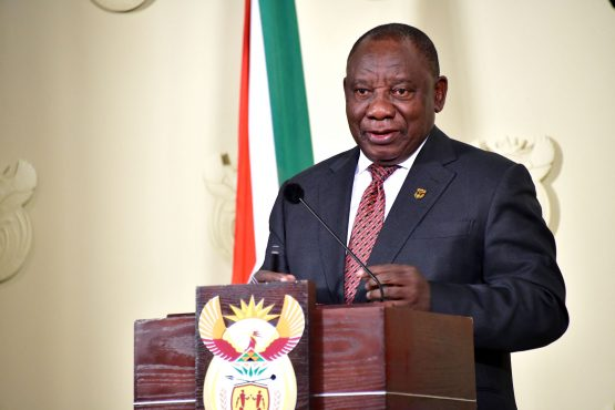 Widespread measure needed to be taken – President Cyril Ramaphosa. Picture: GCIS