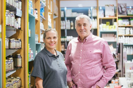 Lynda Bryant and Kevin Hedderwick have joined forces to expand the health and wellness chain. Image: Supplied
