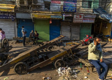 In the informal economy, there's no shelter from the virus
