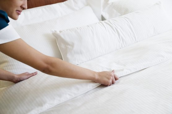 The who cannot or prefer not to isolate at home and healthcare workers who don't want risk spreading the virus to their loved ones can help keep the hospitality sector going. Image: Getty Images
