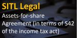 Assets-for-share Agreement (in terms of S42 of the income tax act)
