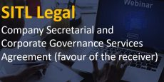Company Secretarial and Corporate Governance Services Agreement (favour of the receiver)