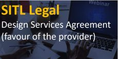 Design Services Agreement (favour of the provider)