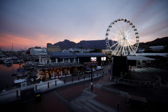 The Waterfront at dusk. Image: Mike Hutchings, Reuters
