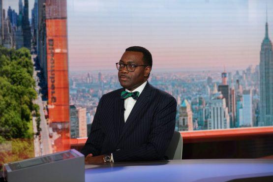 Akinwumi Adesina, president and chairman of the African Development Bank. Image: Bloomberg