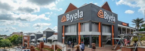The Biyela Shopping Centre in Empangeni, KwaZulu-Natal, one of around 60 retail properties owned by Fortress Reit in SA. Image: Supplied