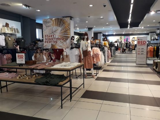 Edcon's flagship 12 000sqm Edgars store at Sandton City. Image: Supplied