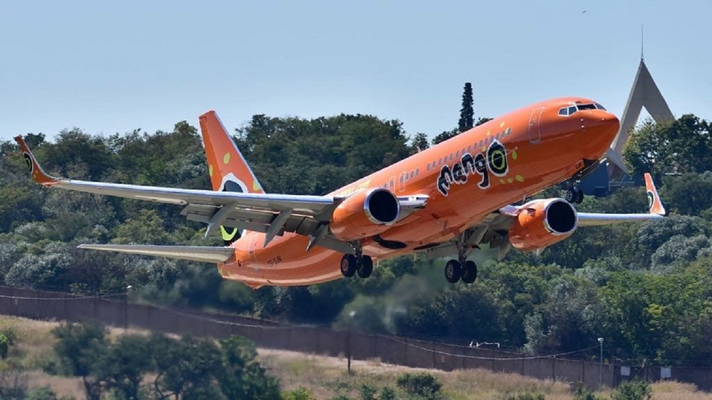 Mango's domestic commercial flights may be grounded