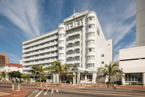 The 111-year-old Edward Hotel on Durban's beachfront, one of the properties that Marriott International has opted out of managing due to the impact of Covid-19 on its business. Image: Supplied