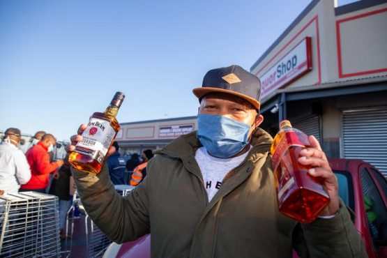The ban on the sale of alcohol has been partially lifted, but tobacco remains prohibited. Roger Sedres/Gallo Images via Getty Images