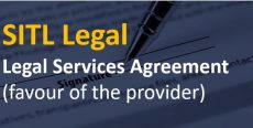Legal Services Agreement (favour of the provider)