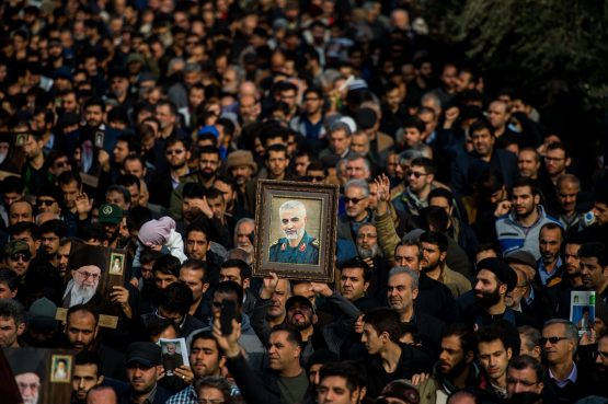 The Islamic nation is allegedly considering an assassination to avenge the US's killing of one of its top generals Qassem Soleimani earlier this year. Image: Supplied