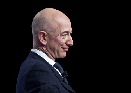 Jeff Bezos's wealth soars to $171.6bn to top pre-divorce record