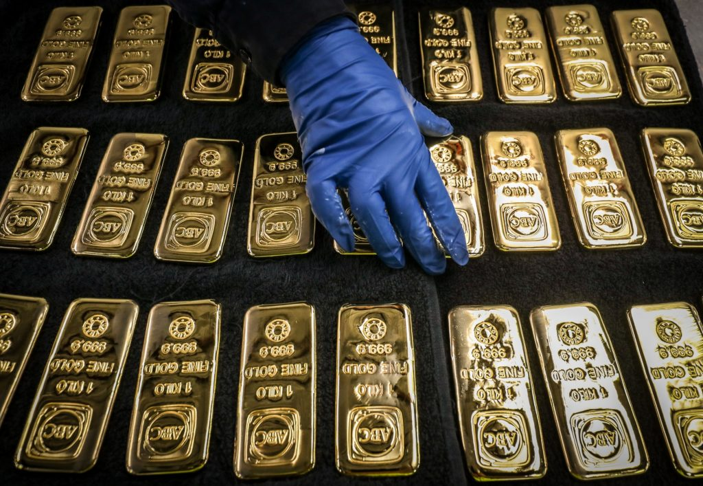 Gold's rally to $1,800 sees ETF inflows exceed full-year record
