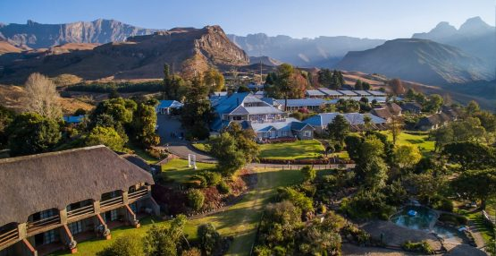 Cathedral Peak Hotel in KwaZulu-Natal's northern Drakensberg. The 81-year-old hotel faces closure if an insurance policy covering it against infectious diseases, such as Covid-19, is not paid out. Image: Supplied