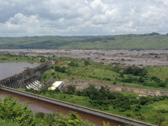 The hydropower potential at the Grand Inga site on the Congo River, the largest remaining untapped hydropower potential in the world.  Image: Supplied