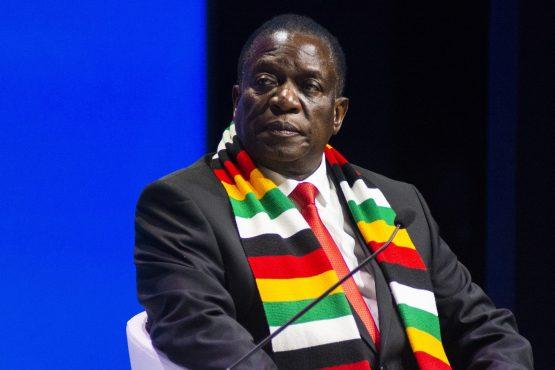 Emmerson Mnangagwa. Image: Bloomberg