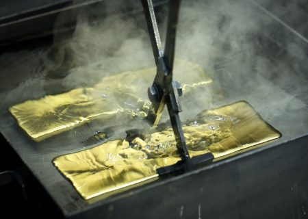 Gold heads for first weekly loss since June after wild ride