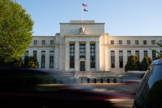 The Marriner S Eccles Federal Reserve building in Washington, DC. Image: Erin Scott/Bloomberg