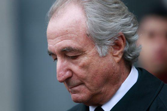 Bernie Madoff. Image: Bloomberg