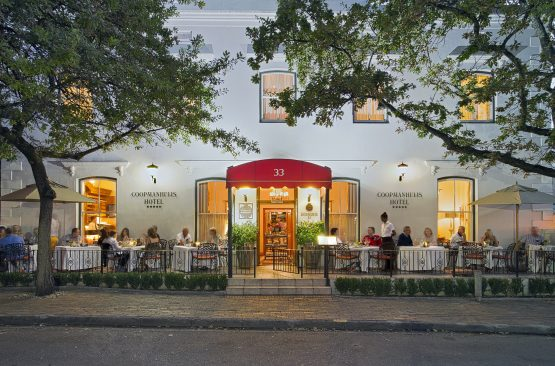 Ma-Afrika's Coopmanhuijs Boutique Hotel & Spa in Stellenbosch. Image: Supplied