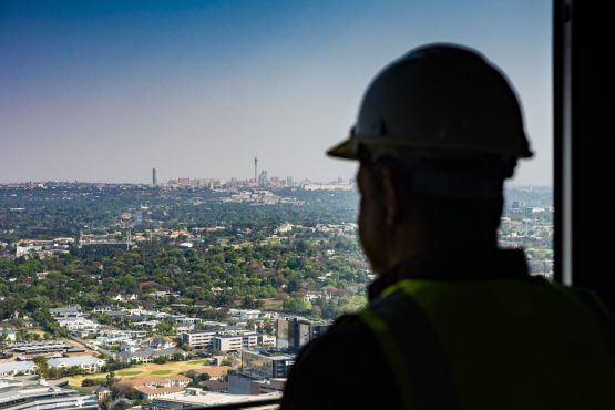 The economist believes SA is on the verge of another construction-led economic growth phase. Image: Waldo Swiegers, Bloomberg