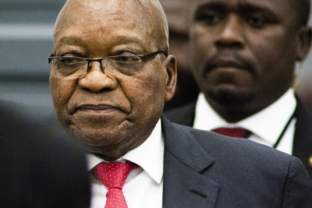 Zuma ordered to reappear at graft inquiry