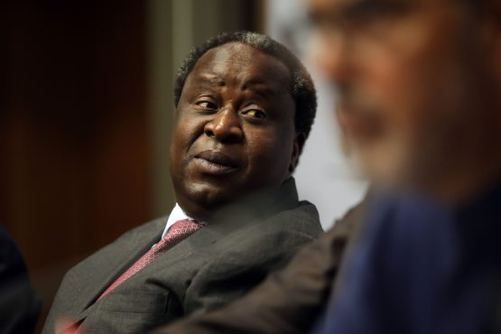 We must 'shore up' and 'pay back the massive obligations we have incurred' says Finance Minister Tito Mboweni. Image: Dwayne Senior, Bloomberg