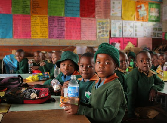 Children at a government school in Harare in 2019. Most are stuck at home again, having had only two weeks of education in the past 10 months. Image: Philimon Bulawayo, Reuters