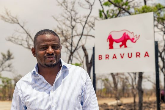 Lionel Mhlanga, country manager for Bravura Zimbabwe.  Image: Bloomberg