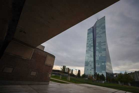 The European Central Bank (ECB) headquarters in Frankfurt, Germany. Image: Bloomberg