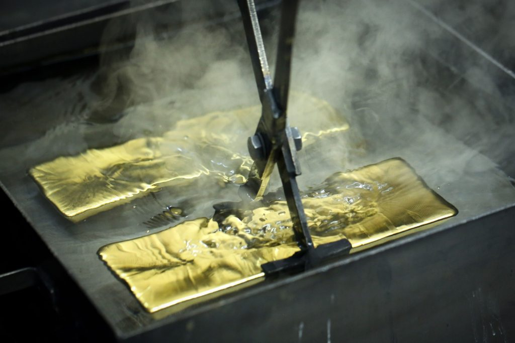 Gold drops below $1,800 to lowest since July on vaccine