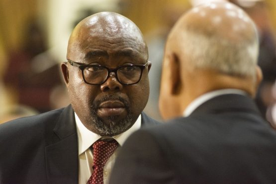 Employment and Labor Minister Thulas Nxesi. Image: Bloomberg
