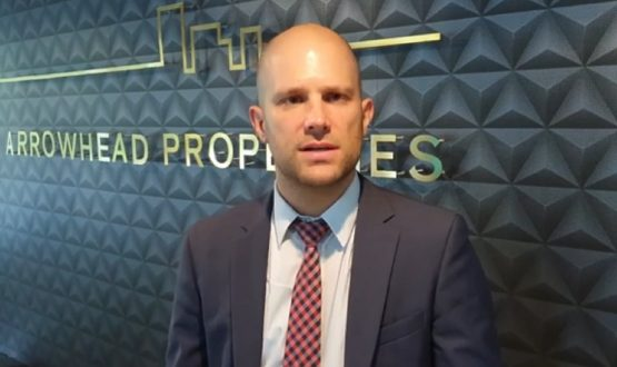 Mark Kaplan, CEO of JSE-listed Arrowhead Properties. Image: Moneyweb