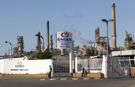 The Engen refinery in Durban. Image: Rogan Ward, Reuters