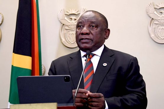 President Cyril Ramaphosa. Image: Elmond Jiyane, GCIS