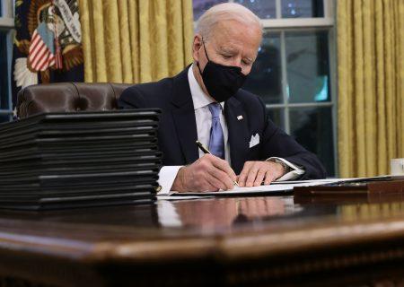 Biden rejoins paris climate agreement