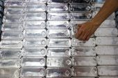 Silver prices surge to eight-year high
