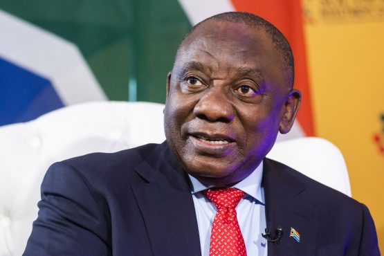 Ramaphosa's attempts to airbrush the ANC are being closely followed. Image: Waldo Swiegers, Bloomberg