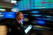 Stock trading frenzy has US volumes near peak panic levels