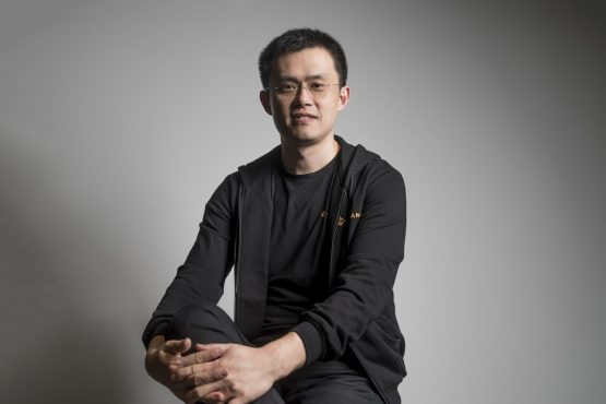 Zhao Changpeng, chief executive officer of Binance. Image: Bloomberg