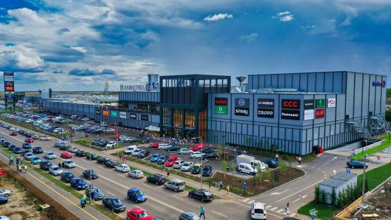 MAS Real Estate's new Dambovita Mall in Romania opened its doors last August in the middle of the pandemic. Image: Supplied