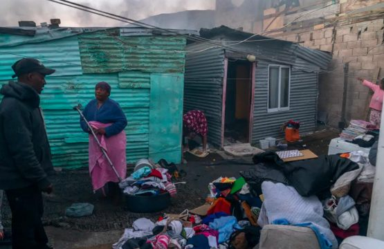 The rights entrenched in South Africa's progressive constitution work for some, but not those living in abject poverty. Image: Supplied