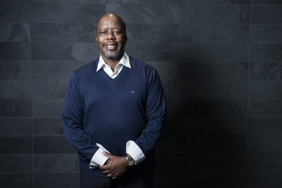 A September 2019 photograph of Peter Matlare at the World Economic Forum on Africa meeting in Cape Town. Image: Bloomberg