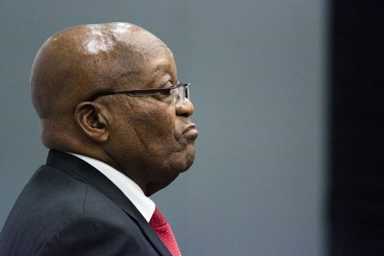 Jacob Zuma is accused of corruption for unlawfully accepting 783 payments and benefits of R4m from Schabir Shaik between 1995 and 2005. Image: Waldo Swiegers, Bloomberg