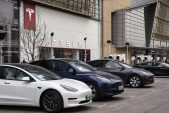 Tesla slump ends after it posts biggest gain in over a year