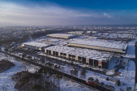 One of the logistics property assets Fortress has acquired in Poland. Image Supplied